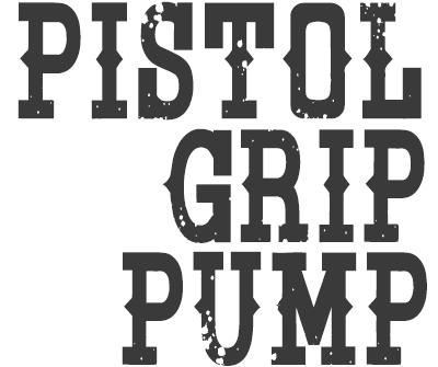 Font License for Pistol Grip Pump
