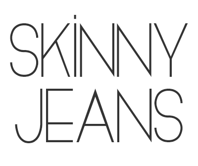 Font License for Skinny Jeans