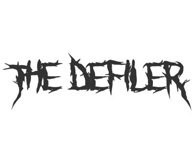 Font License for The Defiler