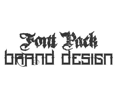 Brand Design Font Pack