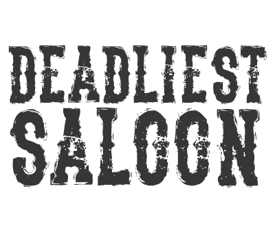 Font License for The Deadliest Saloon