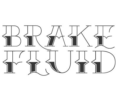 Font License for Brake Fluid