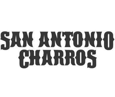 Font License for San Antonio Charros