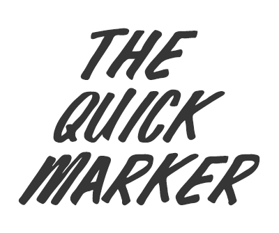 Font License for The Quick Marker