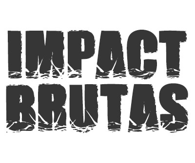 Font License for Impact Brutas