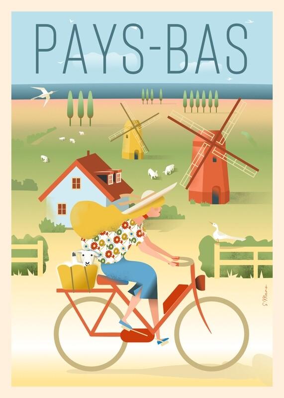Pays-Bas à vélo