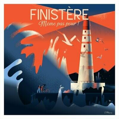 Affiche du Finistère - Poster illustration