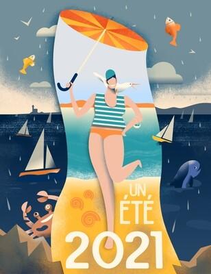 Un été 2021 - Poster illustration