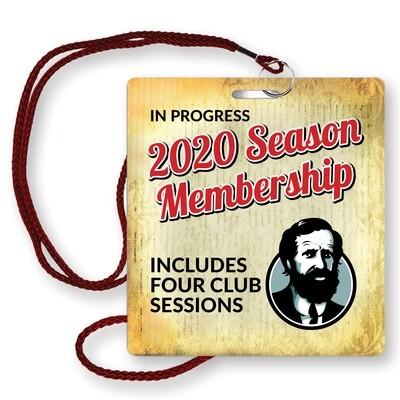 2020 Season Membership 4 Remaining Sessions