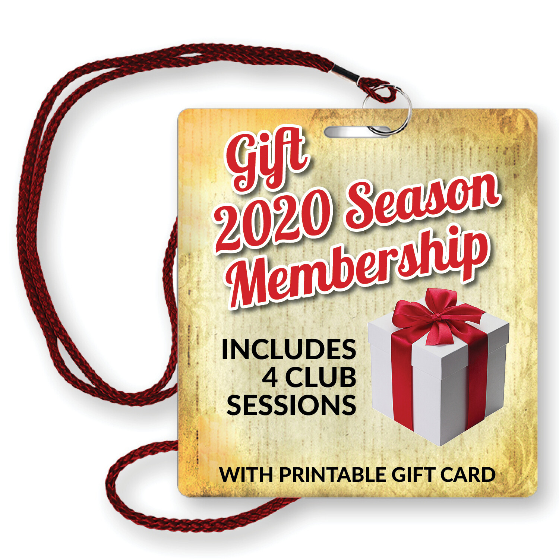 Gift 2020 Season Membership 4 Remaining Sessions