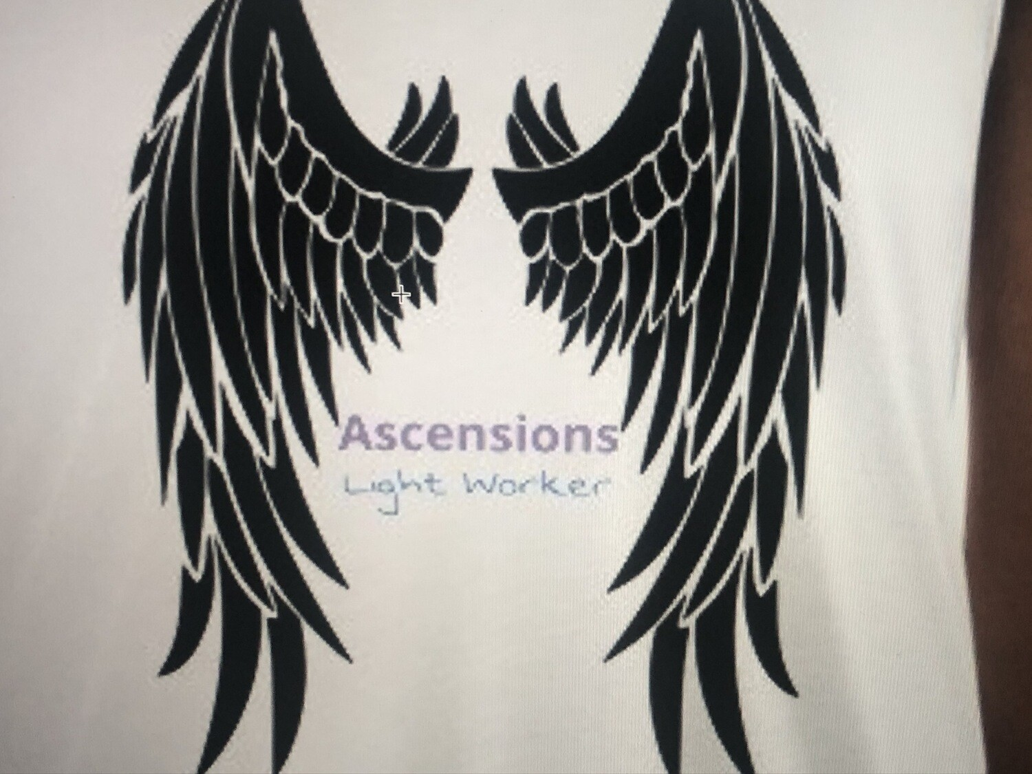 Ascension Lightworker T-shirt with Labradorite