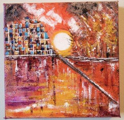 Sunset I-Original sold!