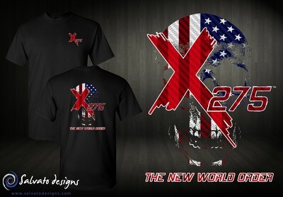 X275 Carbon USA Flag Design
