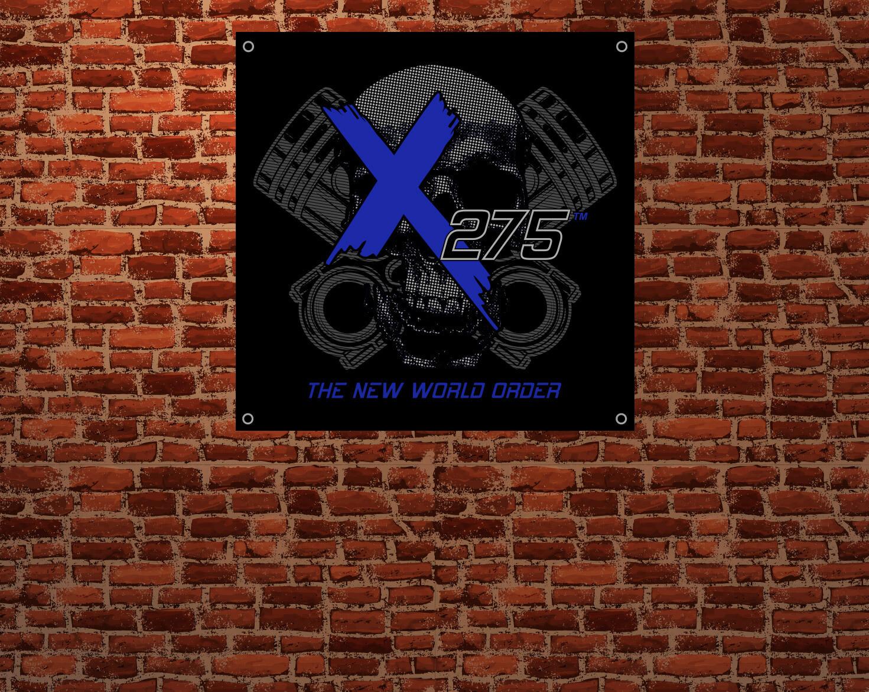 X275 Piston & Rod Banner