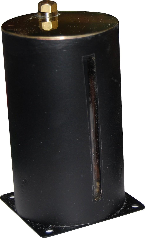 Watertank, Portrait. Ø 54 mm x 90 mm 205 ml. Preheated with watergauge.