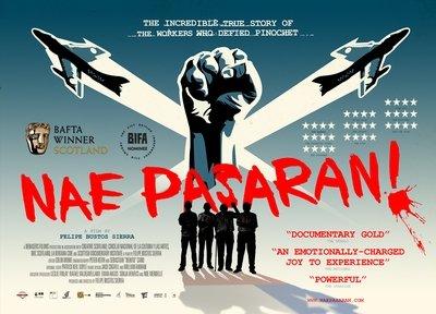 Nae Pasaran UK Cinema Poster (A3)