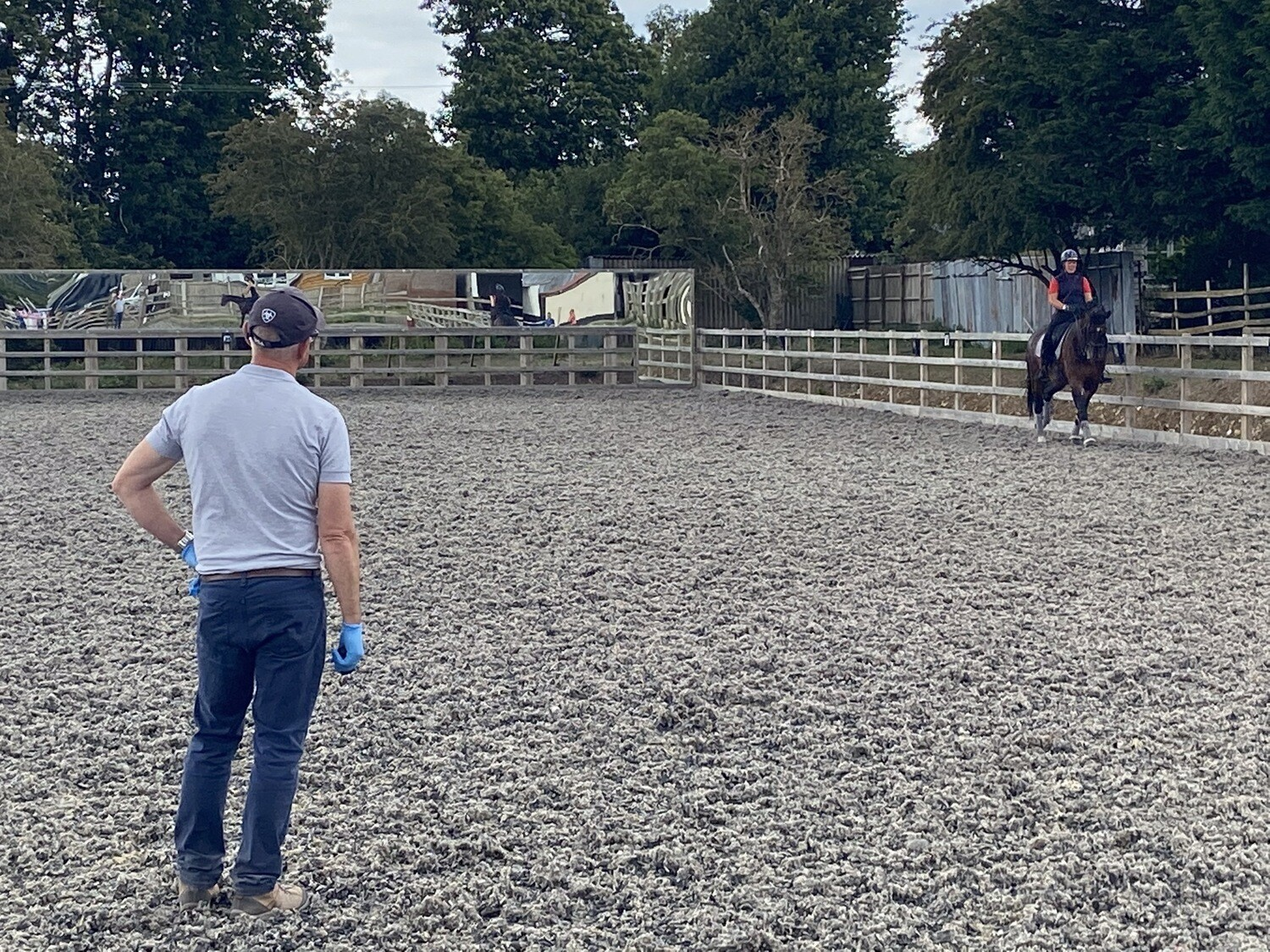 Testt First Mounted Rider Symmetry Assessment : 60 Minutes : Hosted By Louisa Cuomo At Deepdene Stables, Kent (Chelsea Donovan) : 28th September 2020