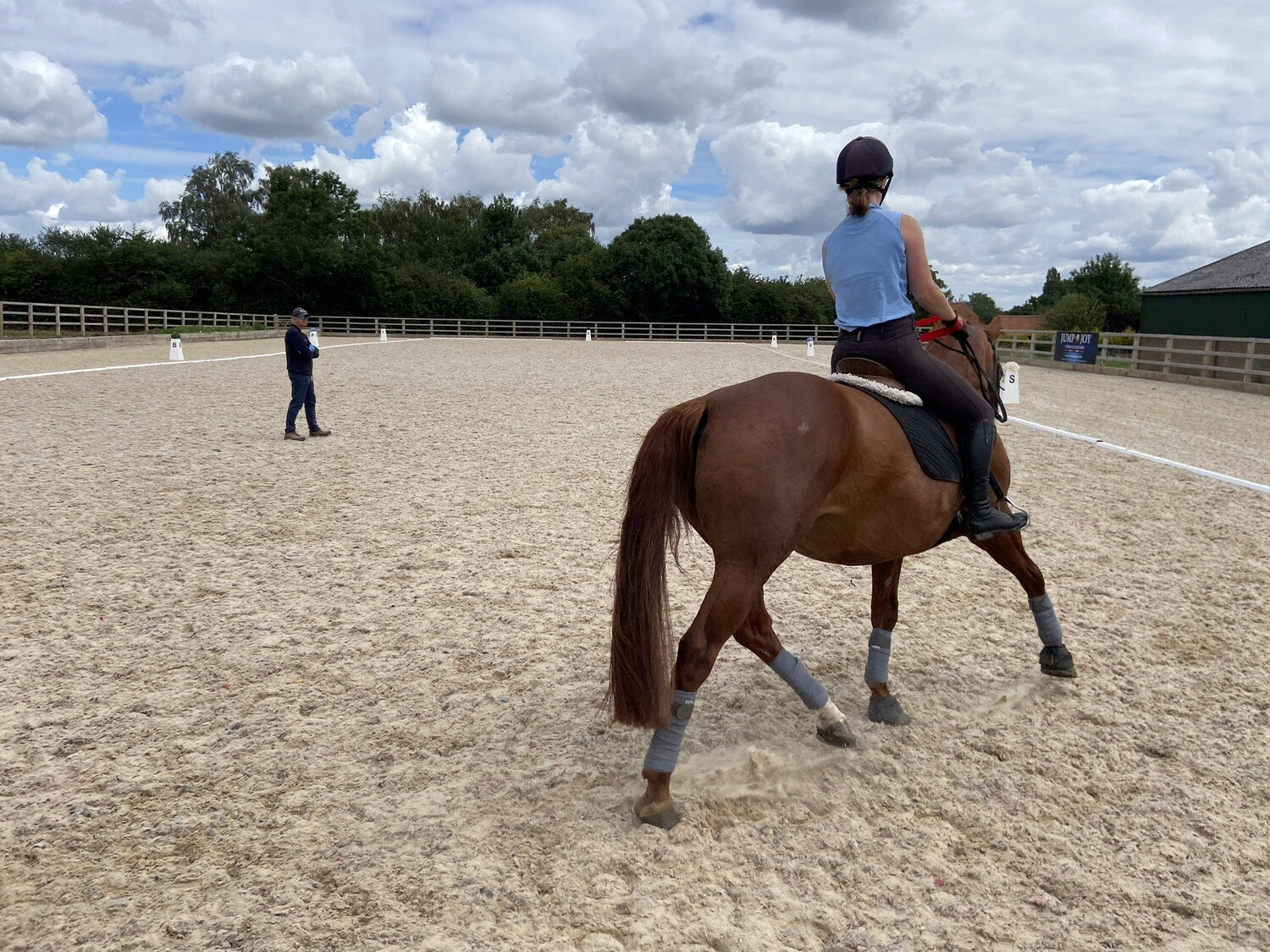 Testt: Follow Up Review : 30 Minutes (Must Have Had A Previous Assessment With Andy) : Hosted By Katie Scott, Greasby Equestrian, October 12th 2020