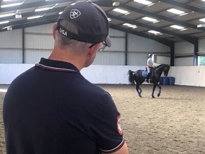 Testt Rider Symmetry Assessment: 60 Minutes: December 21st : Hosted By Libby Towers ( £10 Arena Fee Payable To Host On The Day By Client)
