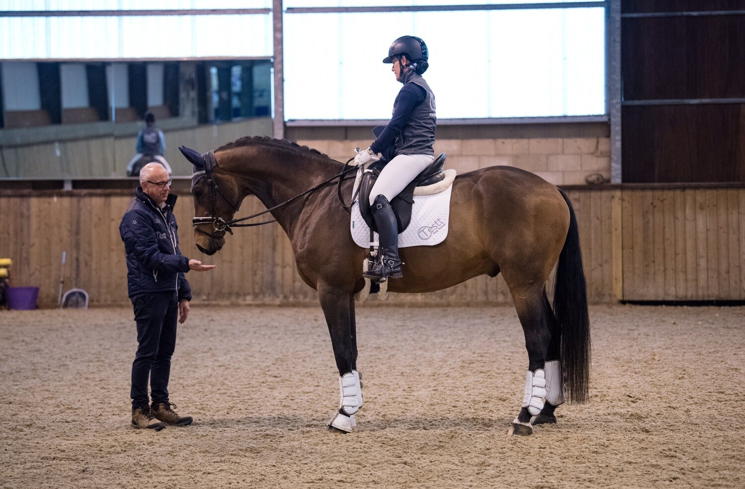 Testt®️: Rider Symmetry Assessment: 60 Minutes : February 7th : Hosted By Libby Shakesby At Manor Farm : Please Do Not Use Link Unless On Libby's List : £5 Charity Donation Arena Fee Pay On Day