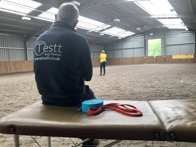 Testt®️Mounted Symmetry Assessment : 60 Minutes : September 26th : Hosted By Libby Shakesby At Manor Farm : £5 Charity Donation Arena Fee Payable On The Day