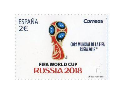 Испания. Чемпионат мира по футболу FIFA 2018 в России. Марка