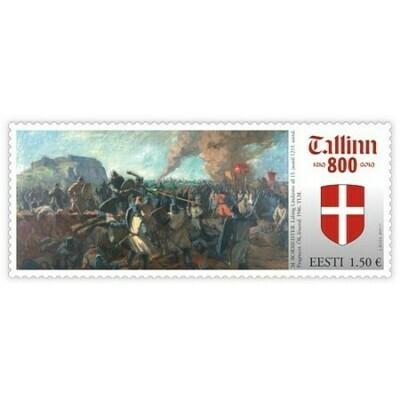 Эстония. 800-летие первого письменного упоминания Таллина. Марка