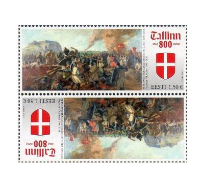 Эстония. 800-летие первого письменного упоминания Таллина. Тет-беш