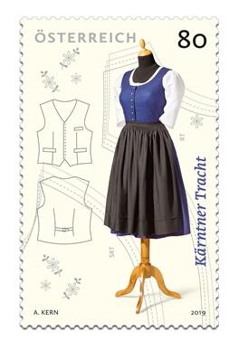 Австрия. Традиционная одежда. Каринтия. Марка