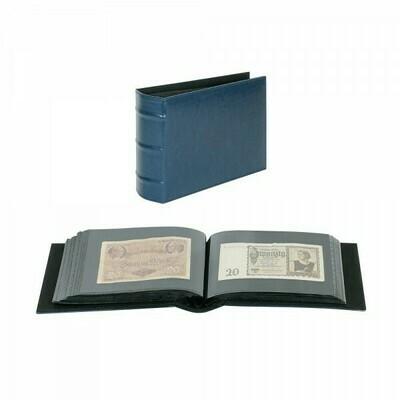 LINDNER. Универсальный альбом FIRMO 813 для размещения 100 конвертов размером 190мм х 130мм., синего цвета