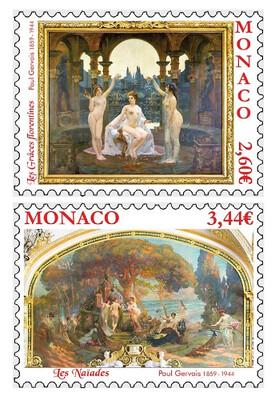Монако. Обнажённая натура в искусстве. Поль Жерве