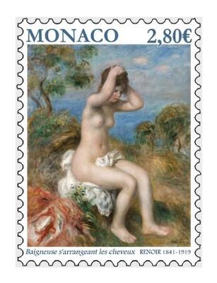 Монако. Обнажённая натура в искусстве. Пьер-Огюст Ренуар