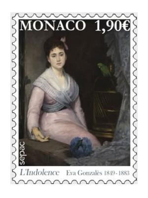 Монако. SEPAC. Произведения искусства в национальных коллекциях. Ева Гонсалес