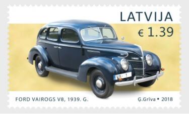 Латвия. История автомобилестроения. Ford Vairogs V8. Марка
