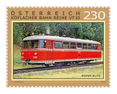 Австрия. Железные дороги. «Rote Blitz» (