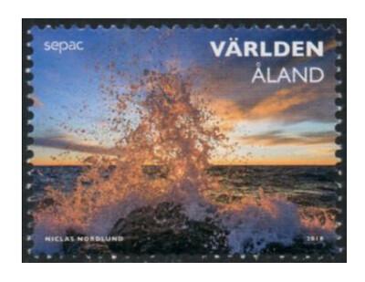 Аландские острова. SEPAC. Захватывающие виды. Марка
