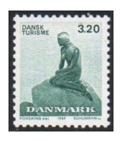 Дания. Туризм. Статуя