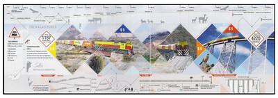 Аргентина. Высокогорная железная дорога