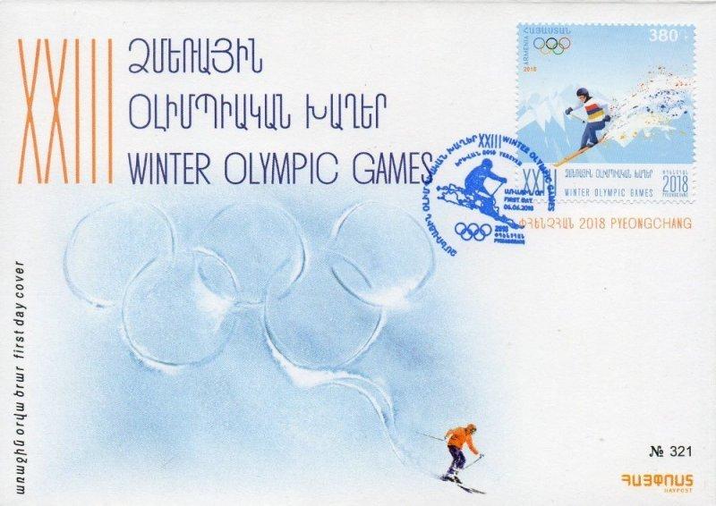 Армения. XXIII Олимпийские зимние игры 2018 года в Пхёнчхане. КПД