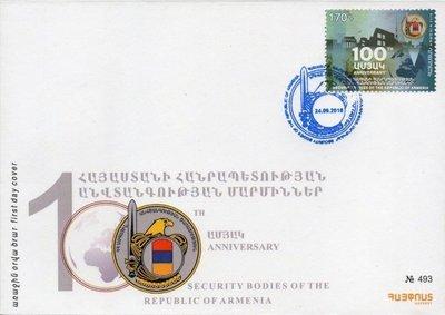 Армения. 100-летие формирования органов безопасности Республики Армения. КПД