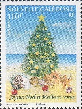 Новая Каледония. Рождество. Марка