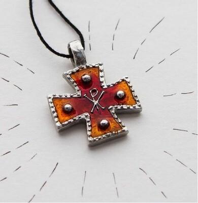 Крест «Константиновский», холодная эмаль