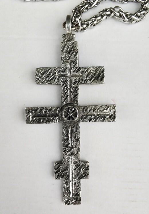 """Иерейский крест """"Даруй крепость Твою рабу твоему"""""""