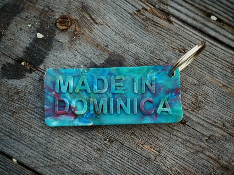 Made in Dominica Keyring