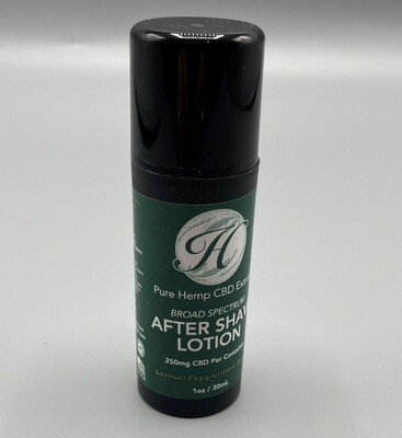 Lemon Peppermint After Shave Lotion 250mg