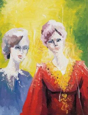 Beautiful & Colorful Painting by  Houman Pazouki