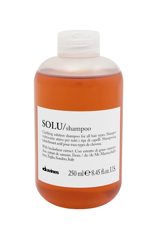 Davines SOLU/Shampoo 8.45 fl. oz