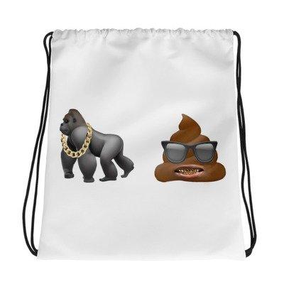 Ape sh** Drawstring bag