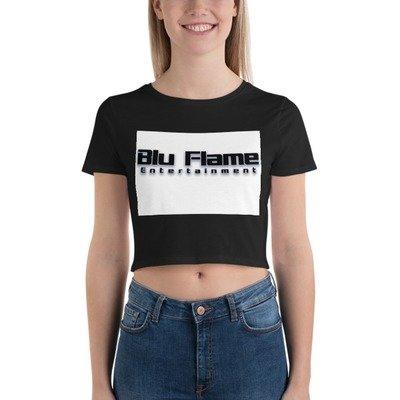 Blu Flame Women's Crop Tee