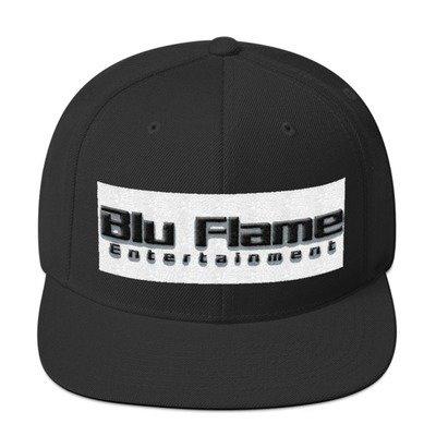 Blu Flame Snapback Hat